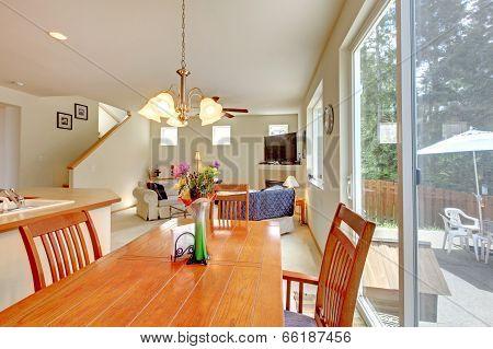 House Inteiror. Dining Room