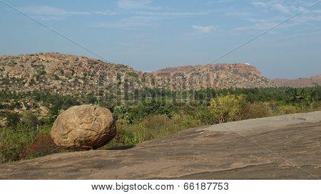 View Towards The Hanuman Temple