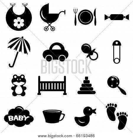 Babyish Icons Set