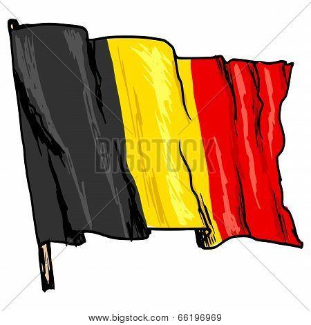 Flag Of Belgium