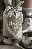 pic of pompous  - bag with bow embroidered heart a cup of tea - JPG