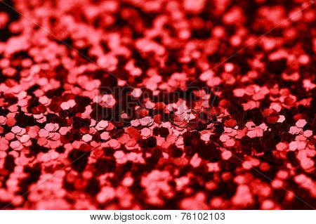 Red and Black Glitter background. Holiday, Christmas, Valentines, Nails abstract texture