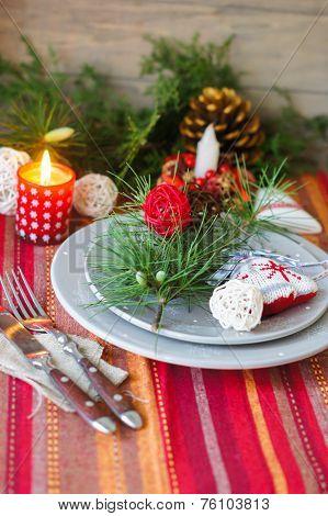 Christmas Time Table Decoration
