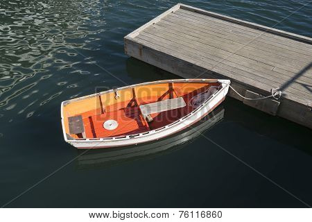 Quaint dinghy