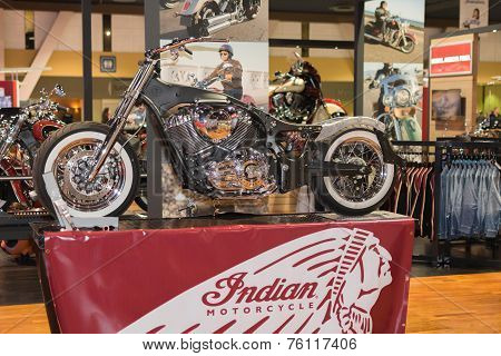 Indian Motorcycle Chassis Design 2015
