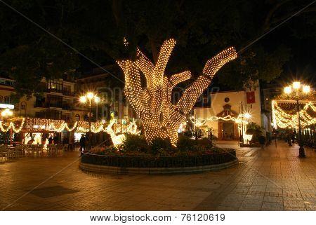 Constitution square, Fuengirola.