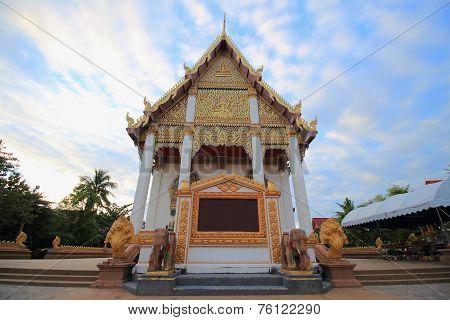 Temple at Wat Buraparam