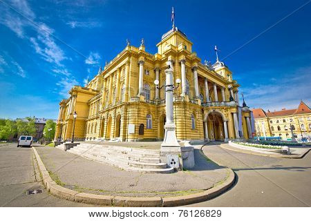 Croatian National Theater Of Zagreb