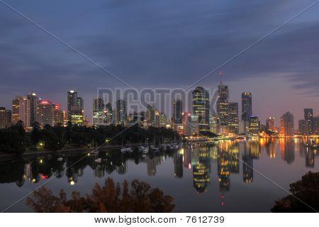 Brisbane Reflexion