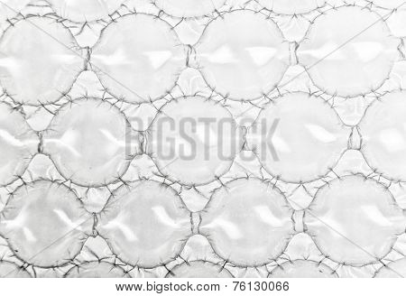 Bubble wrap with extra large  bubbles for packing large fragile items.