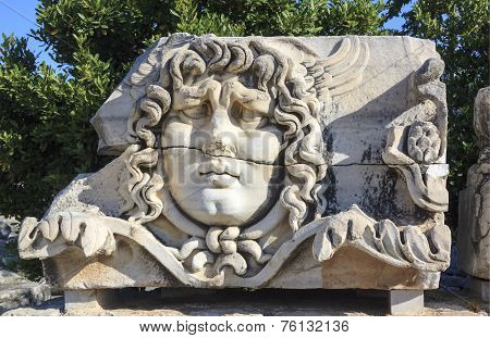 Medusa in Didim, Turkey