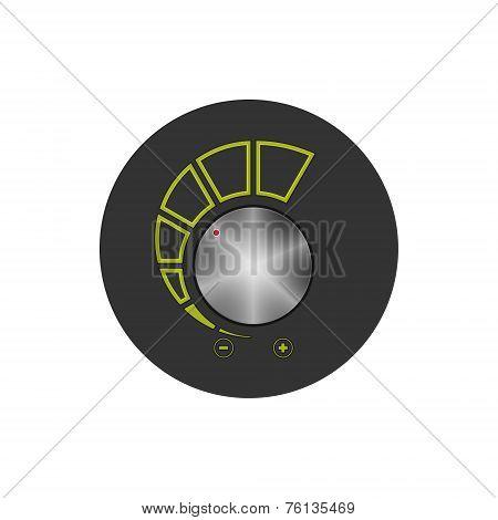 Volume Control Icon, Vector Illustration