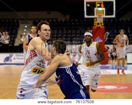 Petr Bohacik try to shot