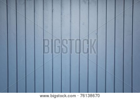 Blue Wooden Formwork Background