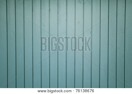 Green Wooden Formwork Background