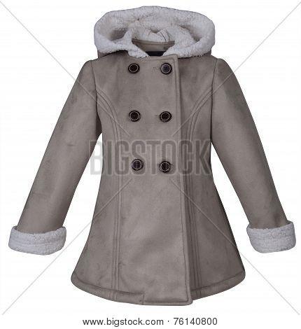 Baby Leather Coat.