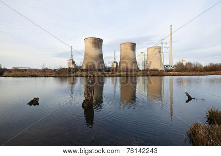 Power Station At River