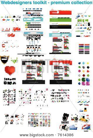 Webdesigners toolkit - premium collection