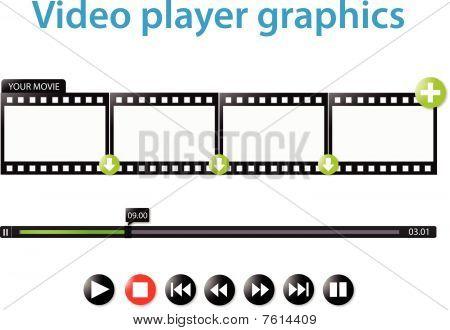Video player graphics
