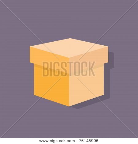 box flat icons design vector shadow color