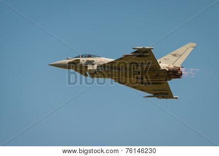 Italian Airforce Typhoon Jet Fighter