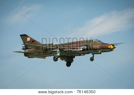 Polish Airforce Su 22 Fitter Aircraft