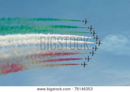 Frecce Tricolori Italiian Air Display Team