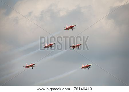 Patrouille Suisse F5 Aircraft Display Team