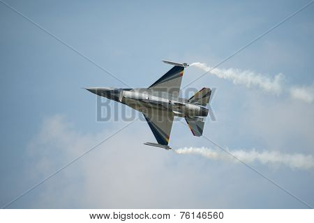 Belgian Air Force Display F16 Fighter Jet