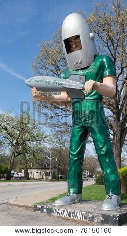 Route 66: Gemini Giant Sculpture, Wilmington, Il