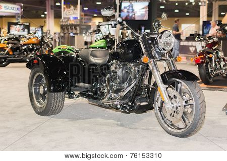 Harley-davidson Tricycle Freewheeler 2015