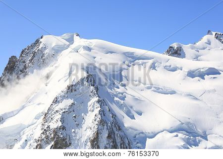 Mont Blanc Alps View