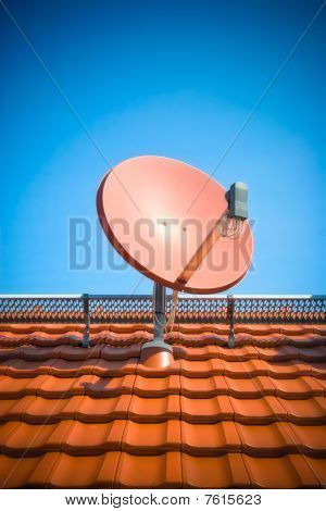 Residential Satellite Dish.
