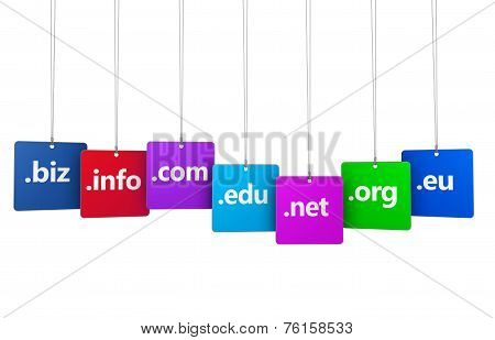 Internet Domain Name Web Concept
