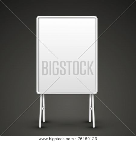 Blank Metal Sandwich Board
