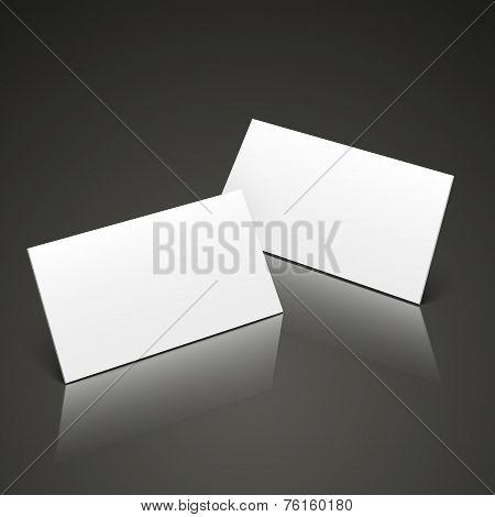 3D Name Cards Template Design