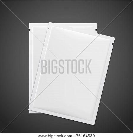 Blank Foil Food Package