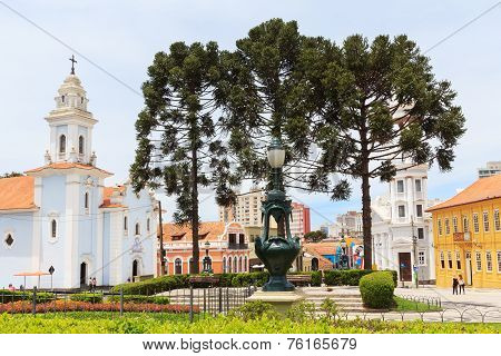 City Center Of Curitiba, State Parana, Brazil