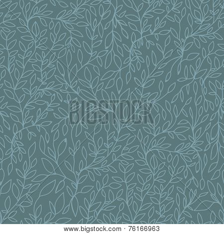 Brunch Nature Hand Drawn Seamless Pattern
