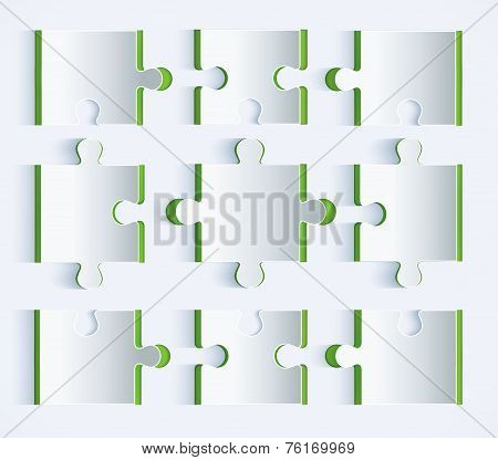 Parts Of Paper Puzzles.