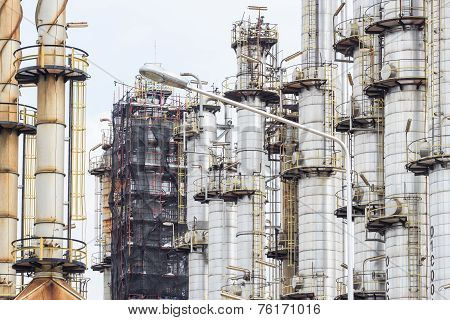 Oil Refinery Tower Factory