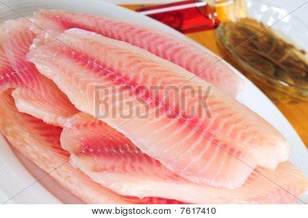 Tilapia fish.