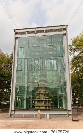Marble Pagoda (1467) Of Wongaksa Temple. Seoul, Korea