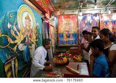 Kataragama, Sri Lanka - May 05:  Saga Dawa Festival  To Celebrate In Sella Kataragama, Kataragama Te