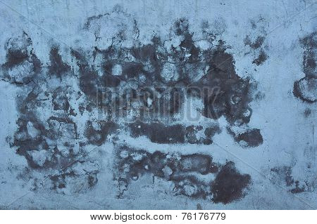 Plaster On The Wall Of The Old House .