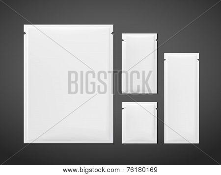 Blank Sachet Packaging