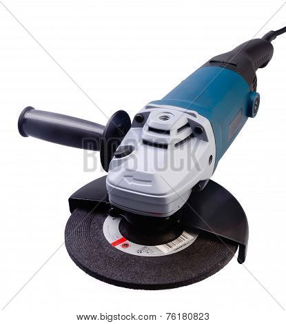 Grinder. electric grinder on the white background.
