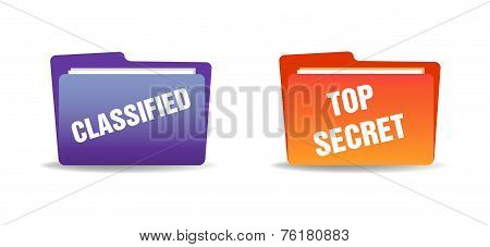 Classified folders