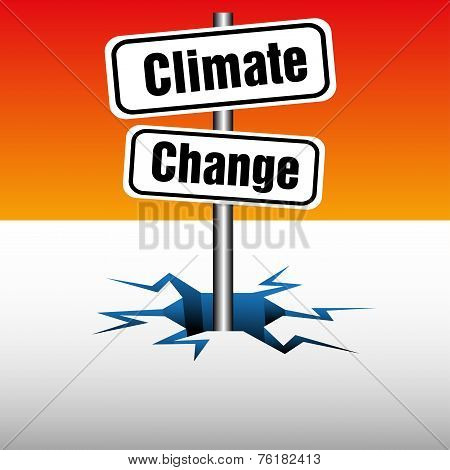 Climate change plate