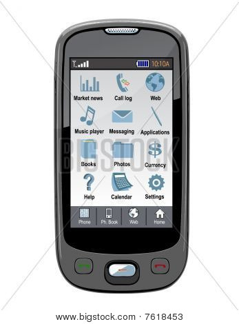 Vector cell phone / PDA / GPS